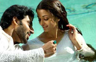 Abhishek and Aishwaya In Umrao Jaan