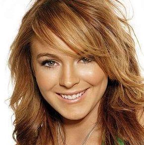 Lindsay Lohan Brown Hair Beauty Still