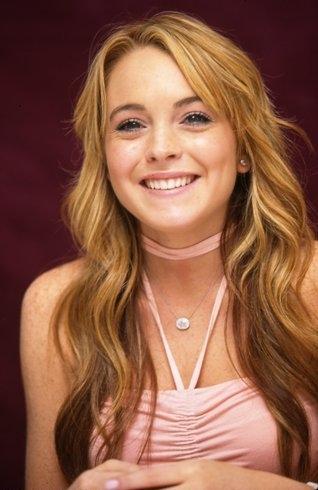 Lindsay Lohan Cute Gorgeous Face Look Still