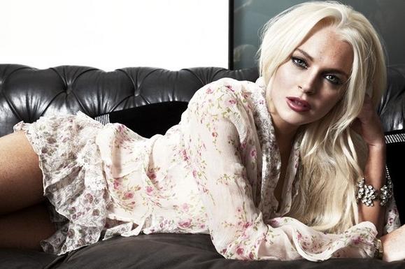 Lindsay Lohan Sexy Look Pic