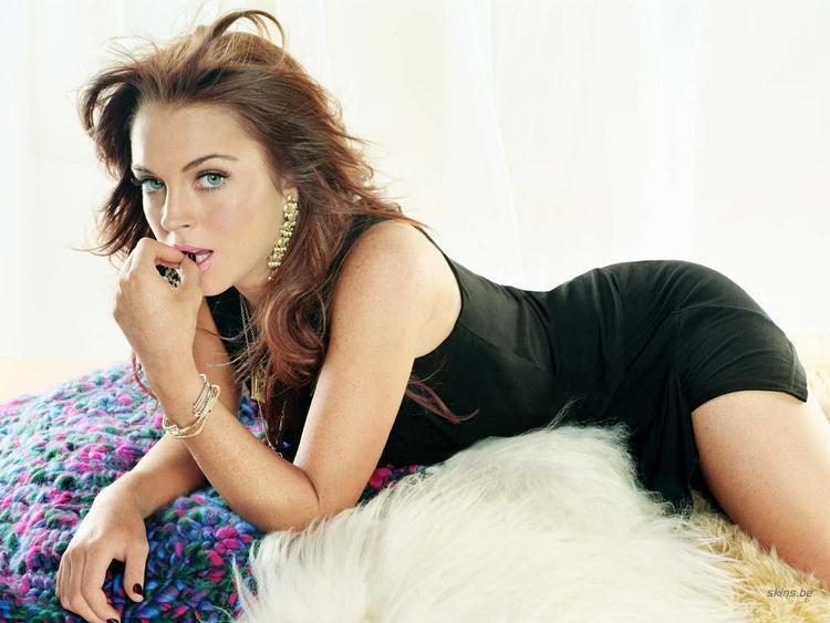 Lindsay Lohan Spicy Look Photo Shoot