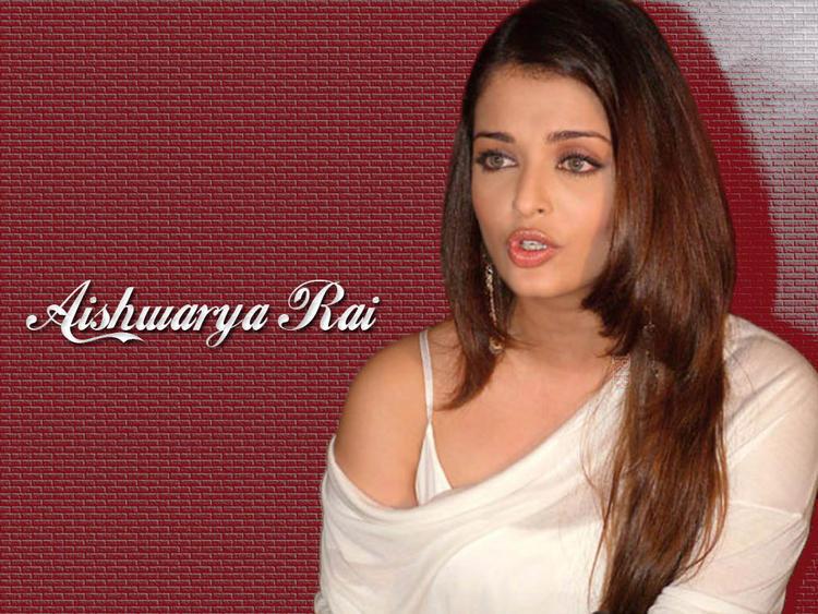 Hot Indian Lady Aishwarya Rai Wallpaper