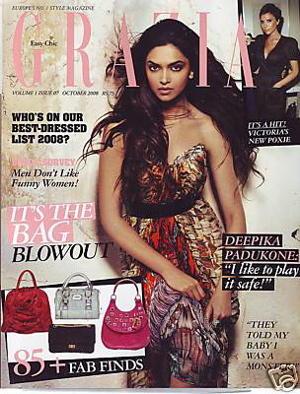 Deepika Padukone Grazia Magazine Mcqueen Still