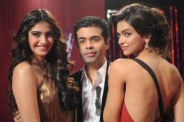 Sonam Kapoor and Deepika Padukone on Koffee With Karan