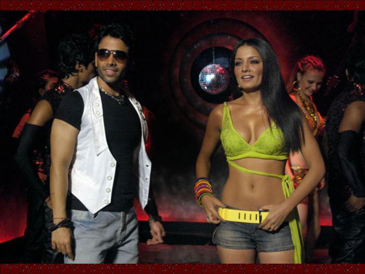 Celina Jaitley with Tushar Kapoor