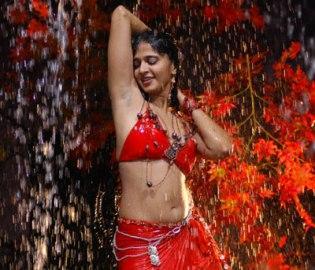 Anushka Wet Swin Still in Vedam