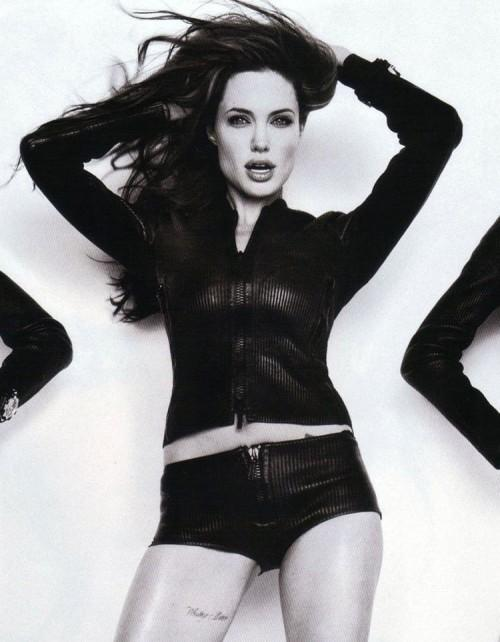 Angelina Jolie Rocking Pose Photo Shoot