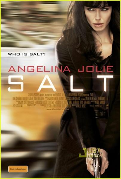 Angelina Jolie Salt Movie Poster Still