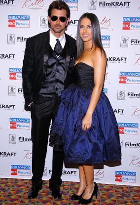 Barbara Mori and Hrithik Stylist Photo