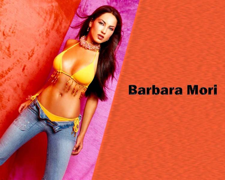 Barbara Mori Glamour Face Look Wallpaper
