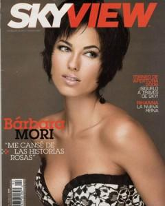 Barbara Mori Hot Modern Look Magazine Still