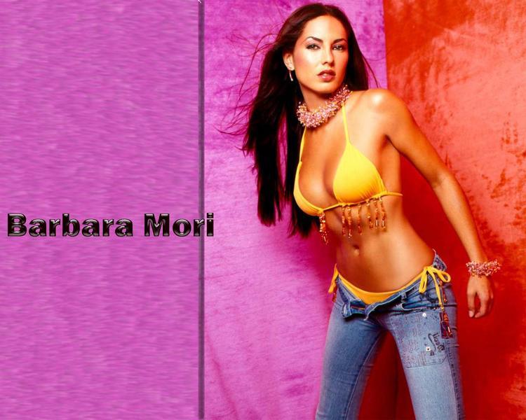 Bold Actress Barbara Mori Shocking Wallpaper
