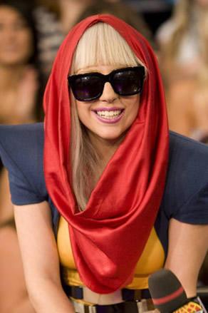 American Singer Lady Gaga Sweet Photo