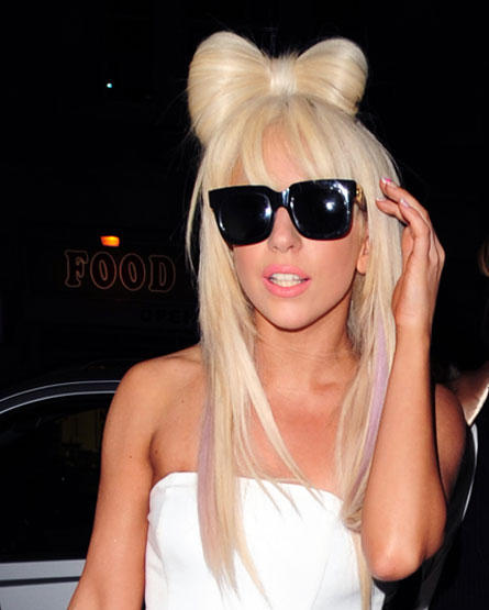 Lady Gaga Latest Hair Style Stylist Photo
