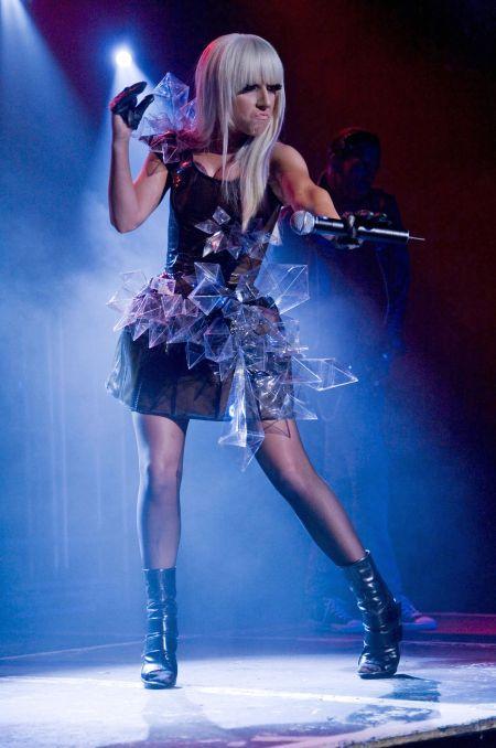 Lady Gaga Rock On Performance Still