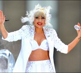 Lady Gaga Rocking Picture