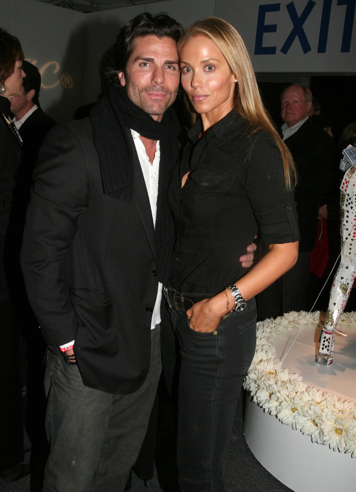 Greg Lauren and Elizabeth Berkley Glamour Pic