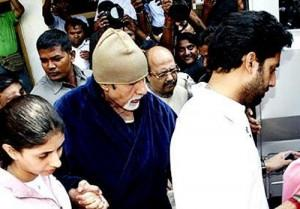 Amitabh Bachchan and Abhishek Photo