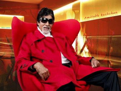 Amitabh Bachchan In Red Blazer Stylist Photo