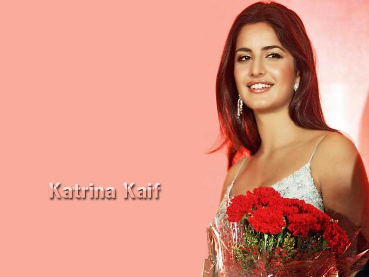 Katrina Kaif Latest Still With Bouquet