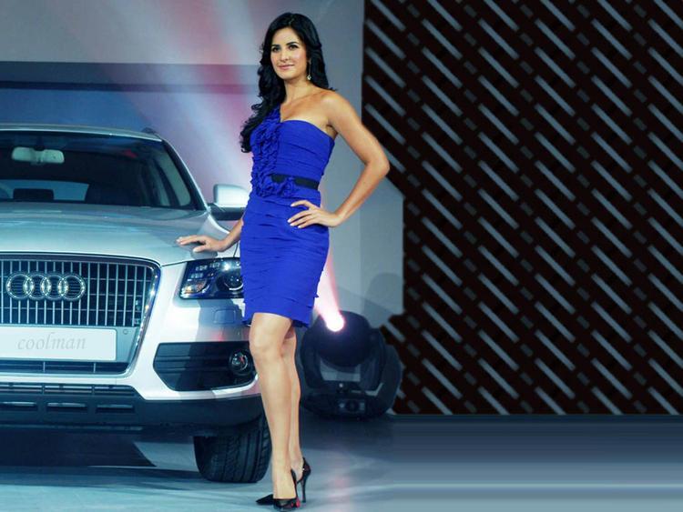 Katrina Kaif Poses With An Audi Q5