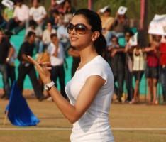 Deepika at Housefull Movie Cricket Match at Goregaon
