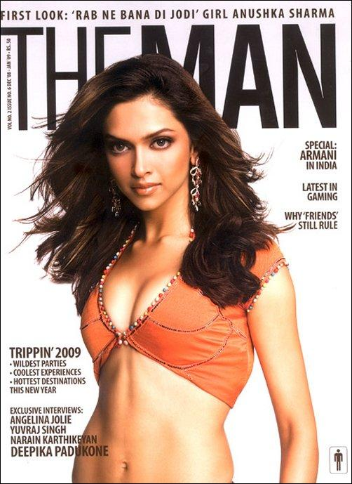 Deepika Padukone The Man Magazine Rocking Still