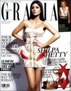 Shilpa Shetty On Grazia Magazine