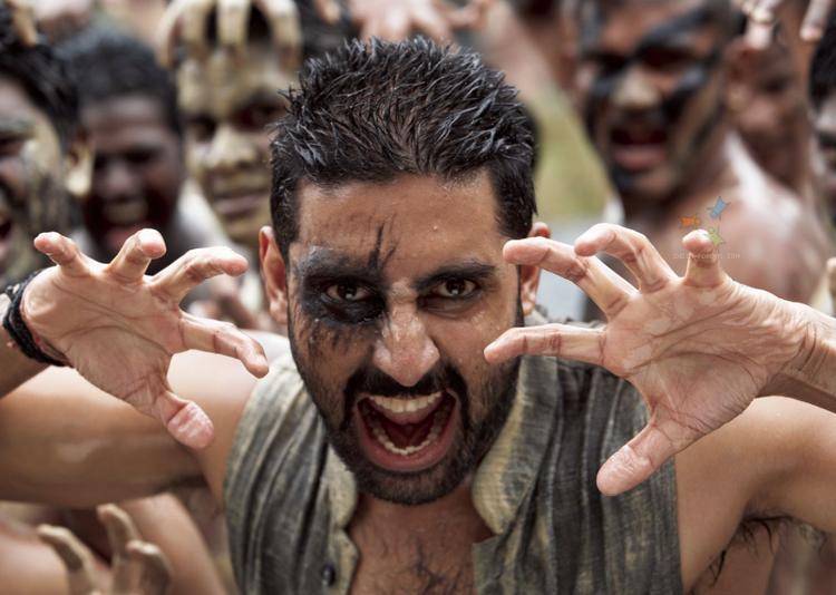 Abhishek Bachchan Angry Look In Raavan