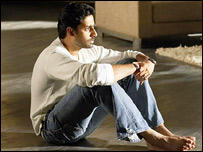 Abhishek Bachchan Sitting Still