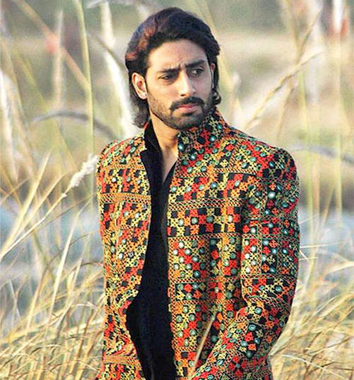 Abhishek Bachchan Stylist Dress Stunning Pic