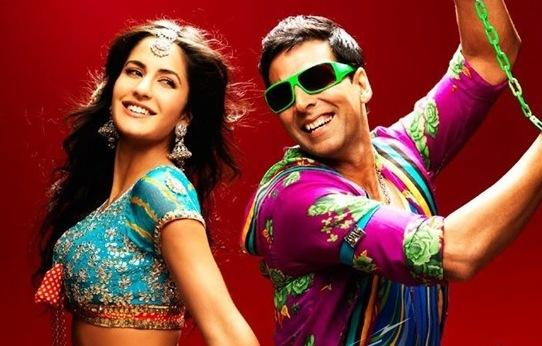 Akshay Kumar and Katrina Kaif Dancing Pic Tees Maar Khan