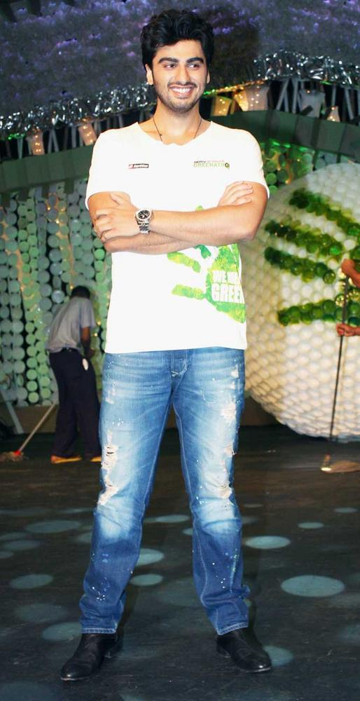 Arjun Kapoor at NDTV Greenathon 4 Event