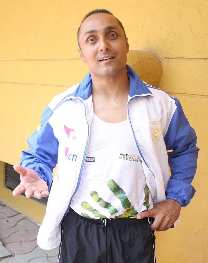 Rahul Bose Spotted at NDTV Toyota Greenathon 4 Event