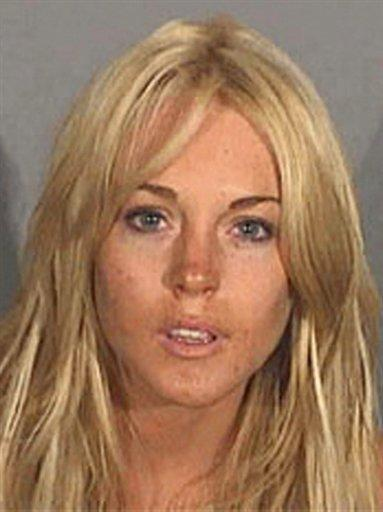 Lindsay Lohan Ugly Face Look Pic