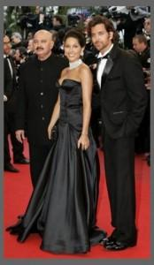 Hrithik Roshan and Barbara On Red Carpet