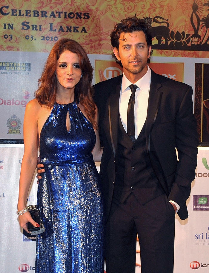 Hrithik Roshan and Suzanne Poses To Photo Shoot