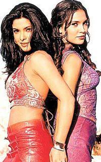Lara Dutta and Priyanka Glamour Pose For Photo Shoot
