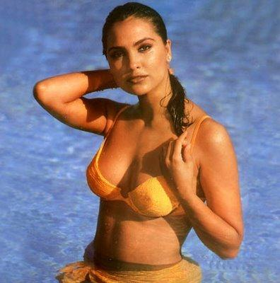 Lara Dutta Wet Bikini Stunning Pic