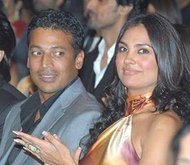 Mahesh Bhupathi and Lara Dutta  Photo