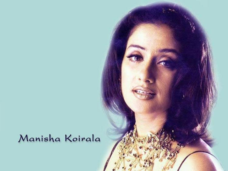 Manisha Koirala Romantic Look Wallpaper