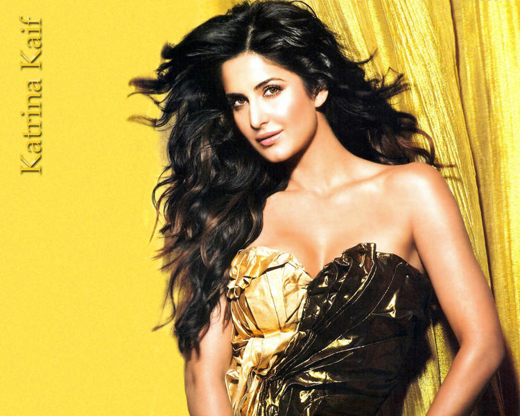 Katrina Kaif Bold and Rocking Look Wallpaper