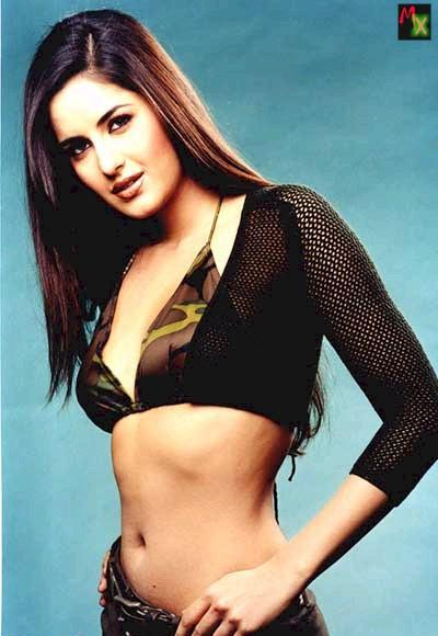 Katrina Kaif Spicy Slim Belly Exposing Still