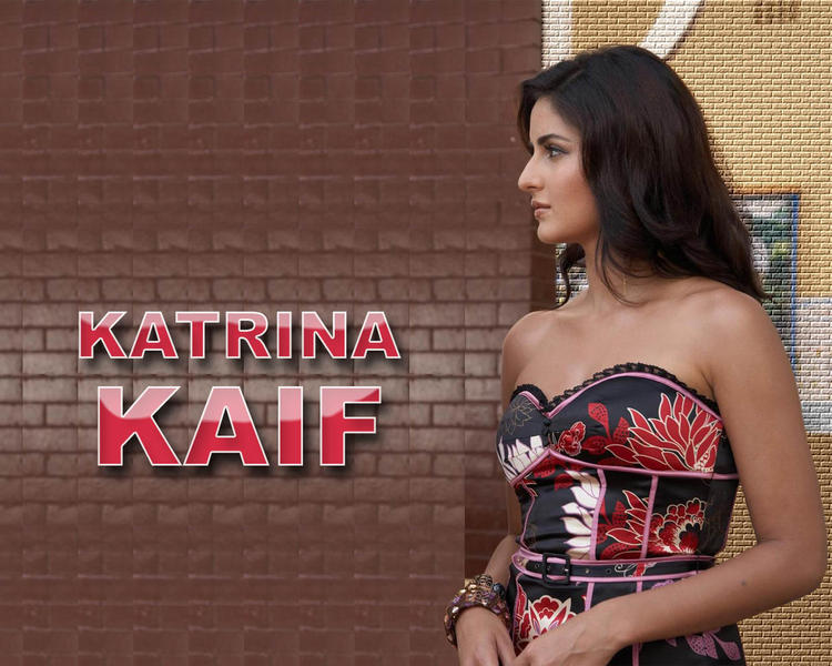 Katrina Kaif Stapless Dress Hot Wallpaper