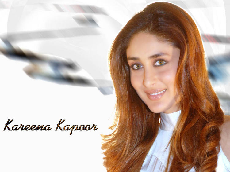 Kareena Kapoor In Brown Hair Gorgeous Wallpaper