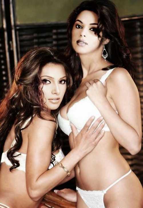 Bipasha Basu and Mallika Hot Sexy Still