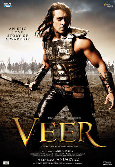 Salman Khan Angry Look In Veer