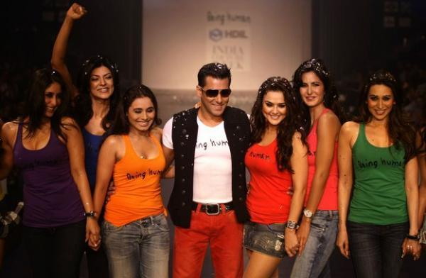 Salman Khan Being Human Fashion Show Hot Actresses Ramp Walk