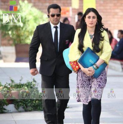 Salman Khan With Kareena Kapoor In Bodyguard