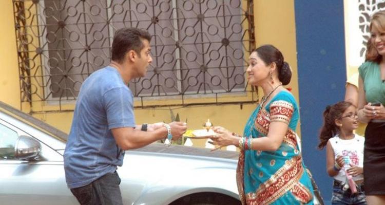 Salman Khan In Star Utsav Serial Tarak Mehta Ka Oolta Chasma Show